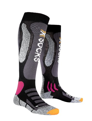 X-Socks Funktionssocken Ski Touring Silver Lady