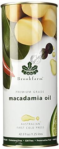 Brookfarm Natürliches Macadamia-Öl, Premiumprodukt, 1,25l