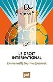Le droit international: « Que sais-je ? » n° 3966