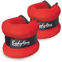 Body-One - Pesas para tobillos o muñecas Talla:2 x 2 kg