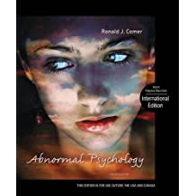Abnormal Psychology by Ronald J. Comer (2012-06-01)