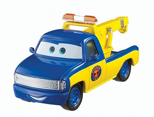 Disney Pixar Cars Race Tow Truck Tom (Piston Cup Series)–Auto Miniatur Maßstab 1: - Truck Diecast Tow