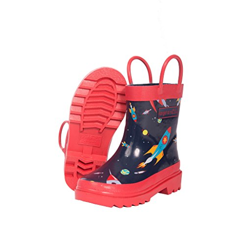 target-dry-childrens-boys-oscar-rocket-pattern-wellington-boots-13-child-uk-navy-red