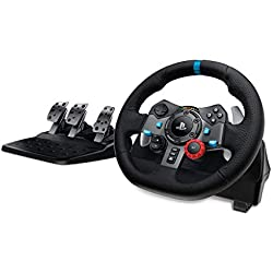 Volant de course Logitech Driving Force G29 pour PS4, PS3 et PC + Pédales (Reconditionné)