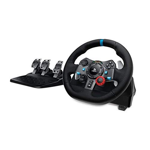 Volant de course Logitech Driving Force G29 pour PS4, PS3 et PC + Pédales (Reconditionné Certifié)