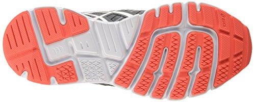 Asics Gel-zaraca 4, Chaussures de Running Compétition femme Noir (carbon/silver/flash Coral 9793)