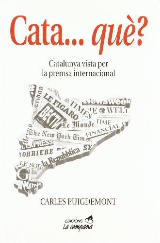 Cata-- qué? por Carles Puigdemont Casamajó