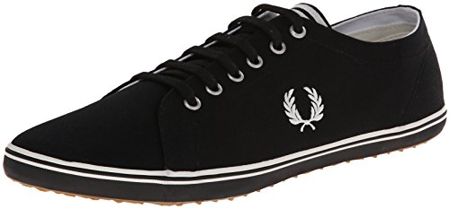 Fred Perry Kingston Twill Black B6259U102, Scarpe sportive Noir
