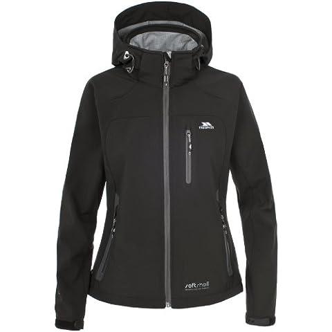 Trespass Bela - Chaqueta de esquí para mujer, color negro, talla X-Large