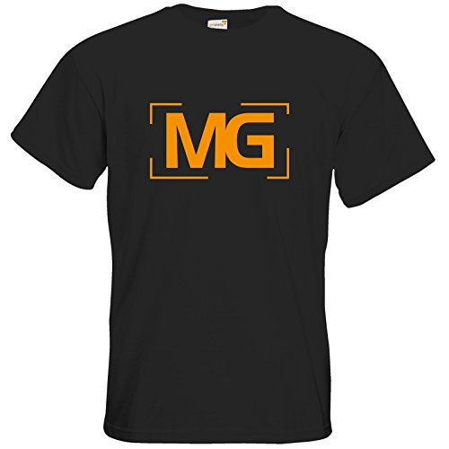 getshirts - Fernsehkritik / Massengeschmack - T-Shirt - Cornerlogo Black