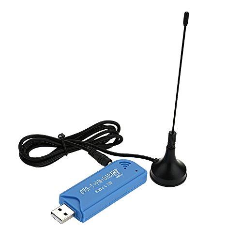 Andoer® Mini USB Digital Portátil 2.0 Stick De TV DVB-T + DAB + FM +