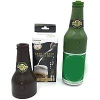 Novedad espumante ultrasónico de cerveza botella de cerveza enlatada forma espuma fabricante de barra de cocina