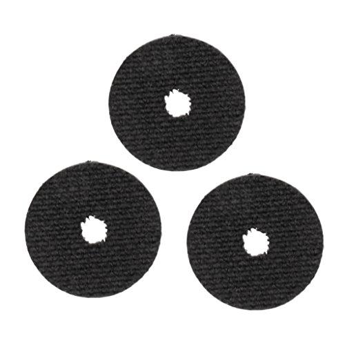 FLAMEER 3 Stücke 19mm 23mm Glatte Kohlefaser Bremsscheiben Ersatzteile Für Alle Angelrolle M L - L