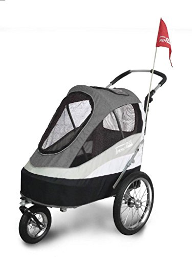 Mein Mops Fahrradanhänger Hundebuggy InnoPet Modell Sporty Trailer bis 30kg