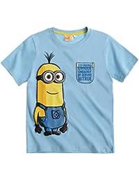 Minions Despicable Me Chicos Camiseta manga corta 2016 Collection - Celeste