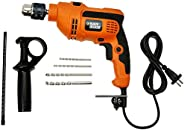 Black & Decker KR554RE 550-Watt 13mm Variable Speed Reversible Hammer Drill Mac