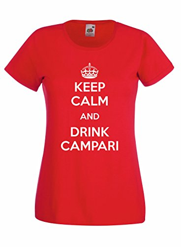 t-shirt-donna-keep-calm-and-drink-campari-maglietta-cool-rock-100-cotone-lamaglieria-s-rosso