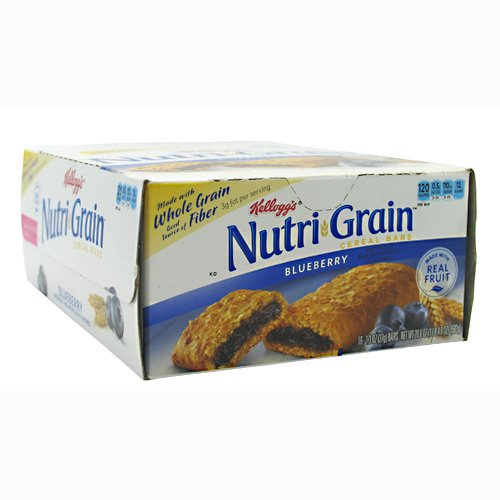 Nutri-grain Cereal Bars (Nutri-Grain Cereal Bars, Blueberry, Indv Wrapped 1.3oz Bar, 16/Box, Sold as 1 Box)