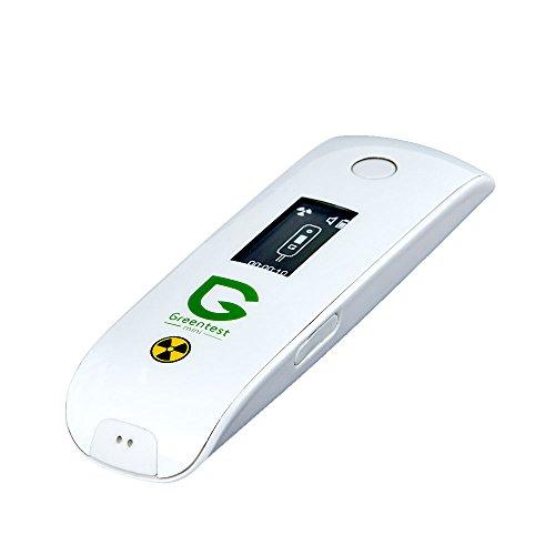 Greentest Mini - Innovatives Messgerät zur Messung von Nitraten im Obst, Gemüse und Fleisch und Messung von Wasserhärte und Radioaktiver Strahlung (Weiß)