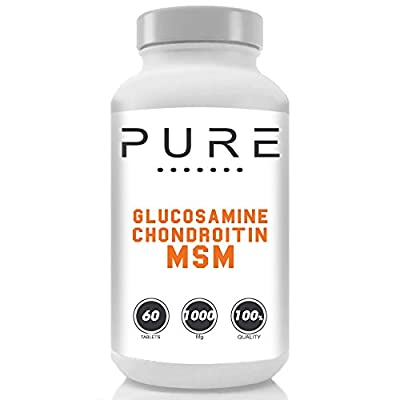 Bodybuilding Warehouse Pure Glucosamine Sulphate, Chondroitin & MSM by Bodybuilding Warehouse