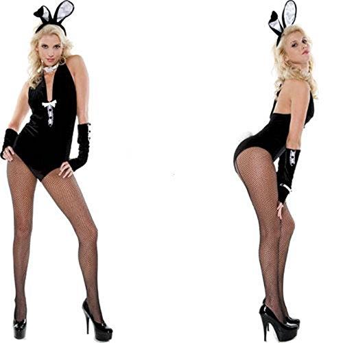 DLucc Halloween-Kostüm -Rollenspiel in Europa und Amerika Kleid Häschen -Kostümkleid - Häschen Anzug Für Erwachsene Kostüm
