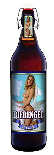 Bier Engel - 1 Liter Flasche mit Bügelverschluss