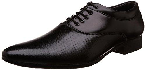 Auserio Men's Black Formal Shoes - 10 UK/India (44 EU)(SS 153)