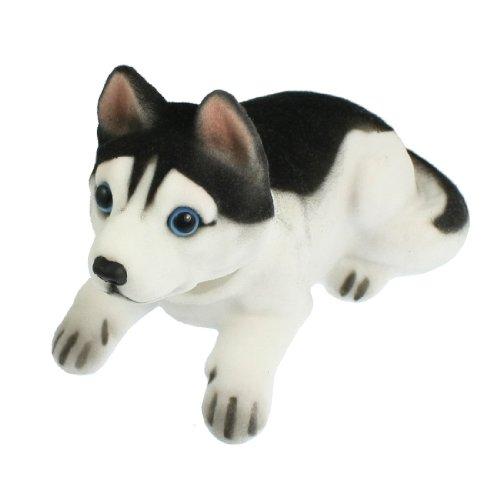 Sedeta/® Huskie meneo Al ritmo Nodder Moving Bobble Head de coches perro Interior de la casa de juguete mu/ñeca decoraci/ón Encantador Suave Felpa Al ritmo de meneo Nodder Moving Mu/ñeca de juguete decora