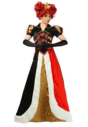 Plus Size Elite Queen of Hearts Fancy Dress Costume 4X (Elite Queen Of Hearts Kostüm)