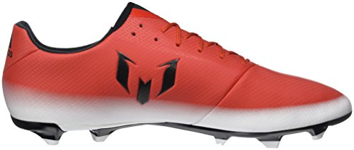 adidas Messi 16.3 Fg, Chaussures de Football Homme Rouge (Red/core Black/ftwr White)