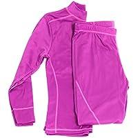 Gregster Skiunterwäsche für Damen in pink bis Größe XL - lange Unterwäsche für den Winter zum Skifahren - Thermounterwäsche lang isolierend