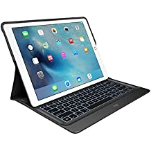 "Logitech CREATE - Funda con teclado retroiluminado con Smart Connector para Apple iPad Pro 12.9"", 1st Generation - (Teclado QWERTY Español), color negro"
