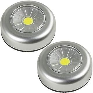 arcas LED Unterbauleuchten 2 Stück push light Druckleuchten Leuchte Lampe Licht