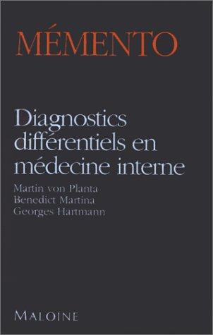 Diagnostics différentiels en médecine interne