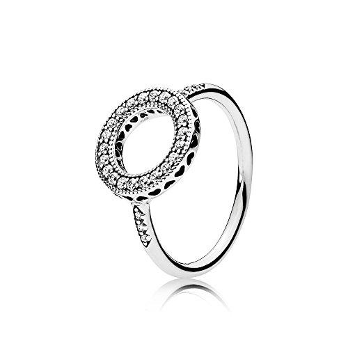 Pandora anello con sigillo stemma donna argento - 191039cz-58