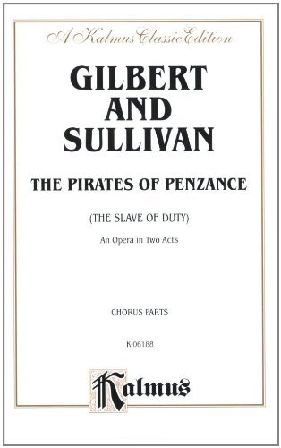 The Pirates Of Penzance Kalmus Edition 0