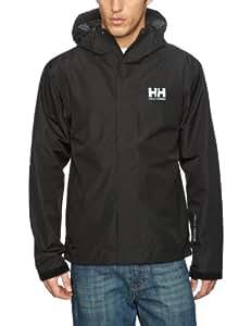 Helly Hansen Men's Seven J Jacket - Black, 2X-Large