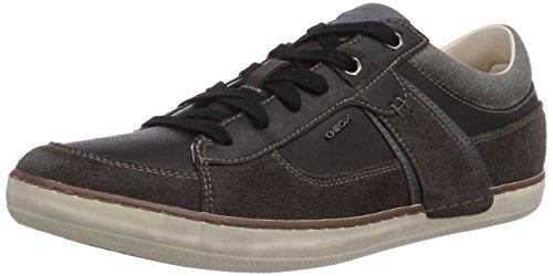 Geox U BOX C Herren Sneakers Grau (MUD/BLACKC6524)