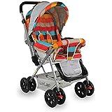 LuvLap Sunshine Stroller/Pram, Easy Fold, for Newborn Baby/Kids, 0-3 Years (Multicolor)