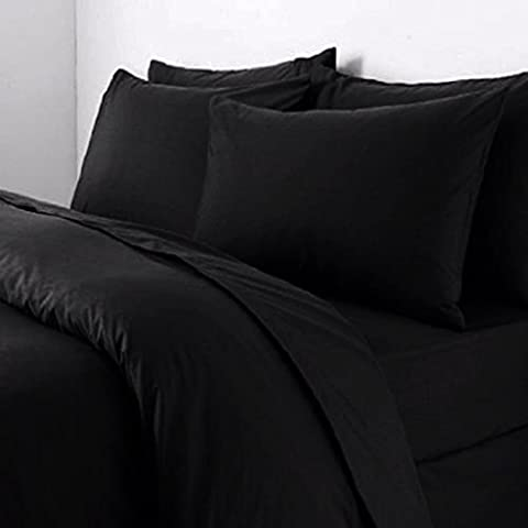 Plain Duvet Cover With Pillow Cases Non Iron Percale Quilt