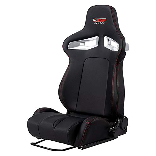 GT OMEGA Racing RS9 Seat + Seat Sliders