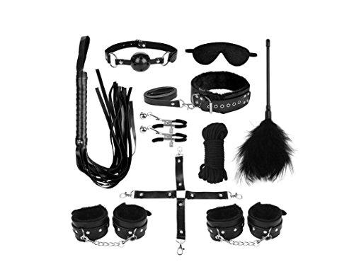LIUYULI Bondage Set Perfekt für Anfänger 10 Stück SM Sexspielzeug