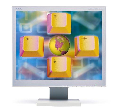 Nec-mitsubishi Lcd (NEC LCD1960NXi LCD-Monitor, 48,3 cm, Weiß)