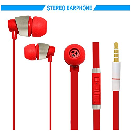 Hello Zone Sporty look and Comfort Fit Stereo Headset Handsfree Headphone Earphone with Mic 3.5 MM Jack for Sony Xperia Z5 Premium Dual -RED  available at amazon for Rs.198