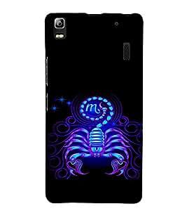 ifasho Designer Phone Back Case Cover Lenovo A7000 :: Lenovo A7000 Plus :: Lenovo K3 Note ( Wolf Man Full Moon )