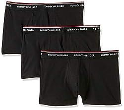 Tommy Hilfiger Herren 3p Trunk Shorts, Schwarz (Black 990), M / 50 (3er Pack)