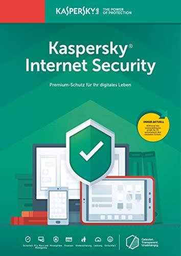 Kaspersky Internet Security 2019 | 3 Geräte | 2 Jahre | Aktivierungscode & Datenrettung by EaseUS CD-ROM