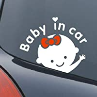 Baby on board baby in car sticker