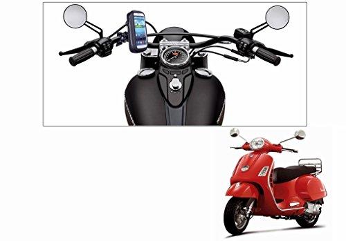 Speedwav Waterproof Bike Mobile Phone Holder Case upto 5.5 Inch Screen-Piaggio Vespa LX