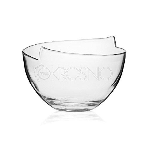 Einzigartige Handmade Dekorative Glas Schüssel, groß,–Blei FREI Glas (Dekorative Glas-schüssel)